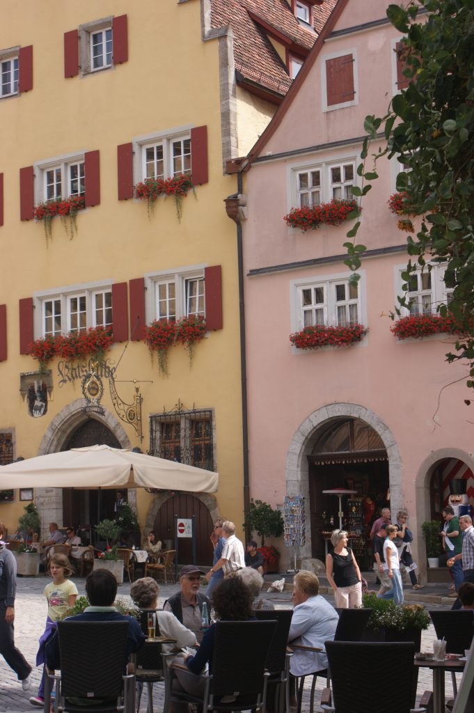deutschlandreise franken marktplatz