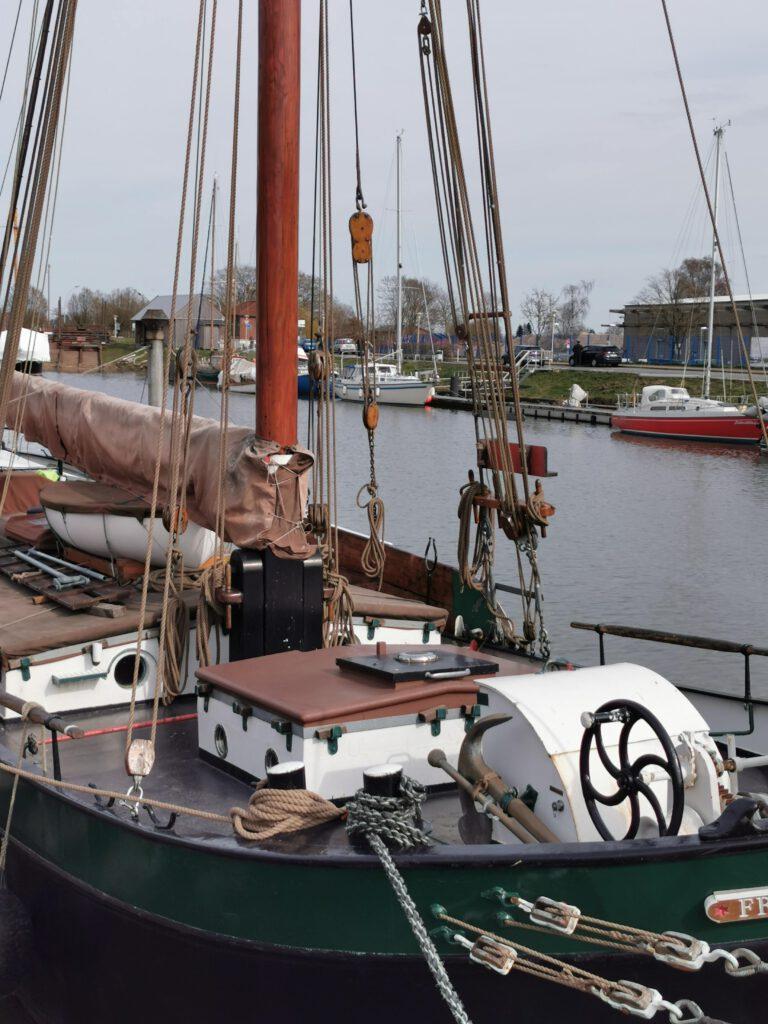 Loggerboot in Glückstadt